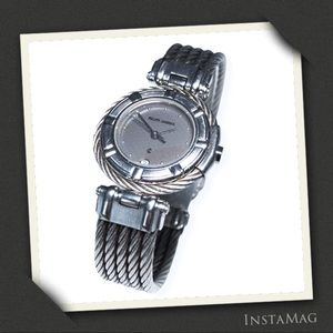 PHILIPPE CHARRIOL Celtic Cable Wire Bracelet Watch